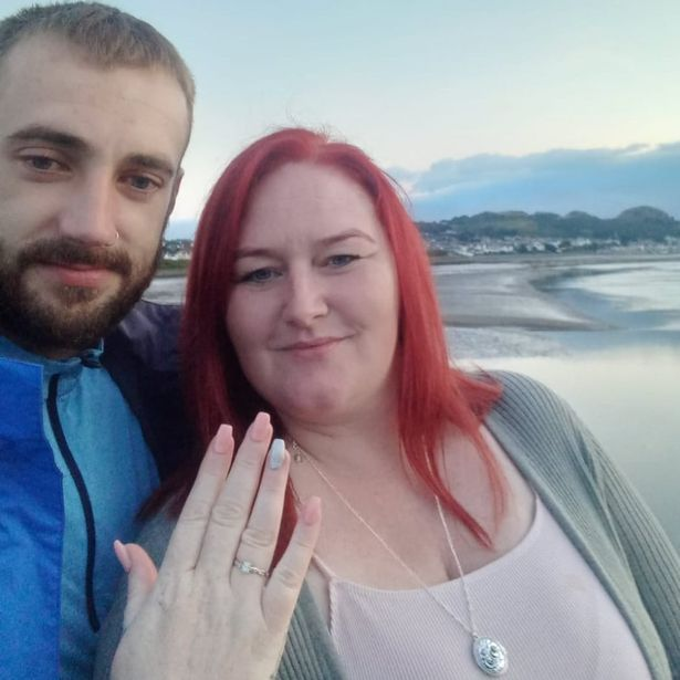 Debbie Walker and Daniel Doran had not long celebrated their anniversary before the proposal